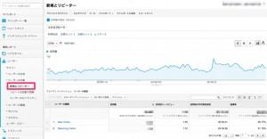 Googleアナリティクスの新規とリピーター